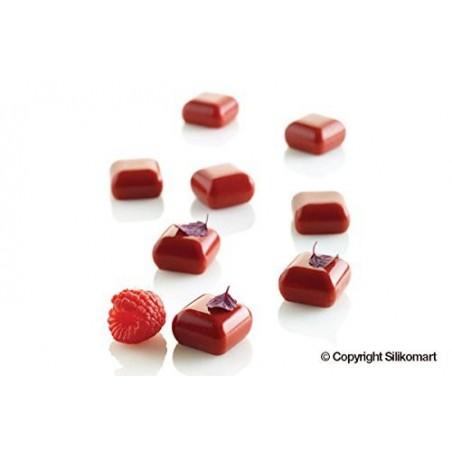 Moule 35 micro carrés bombés
