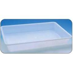 BAC RECTANGLE PLAT PLASTIQUE